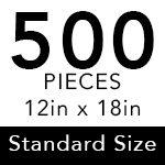 Standard - 500 Pieces ($15.95)